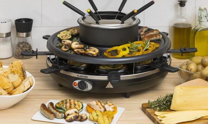 Healthy raclette & fondue: подготовить новогодний урок к фитнесу